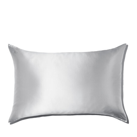 SLIP Silk Queen Pillowcase - Silver | @violetgrey