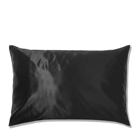 SLIP Silk Queen Pillowcase - Black | @violetgrey