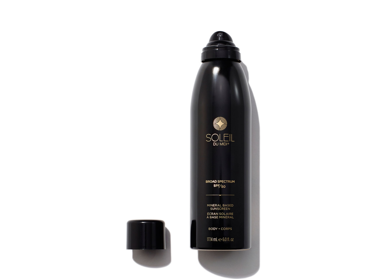 Soleil Toujours - Mineral Based Sunscreen Continuous Mist Broad Spectrum SPF 50