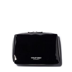 VIOLET GREY Small Makeup Bag - Black | @violetgrey