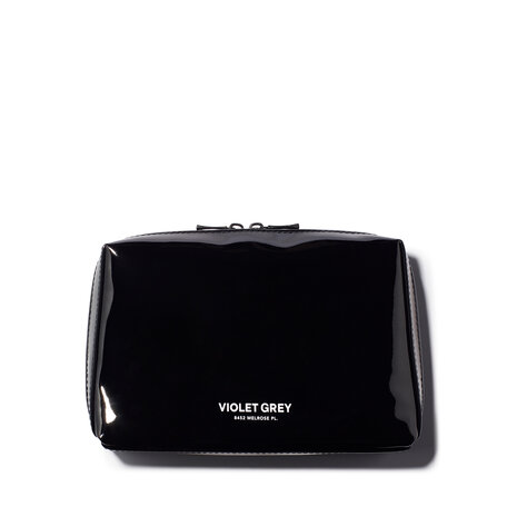 VIOLET GREY Small Makeup Bag - Black | @violetgrey