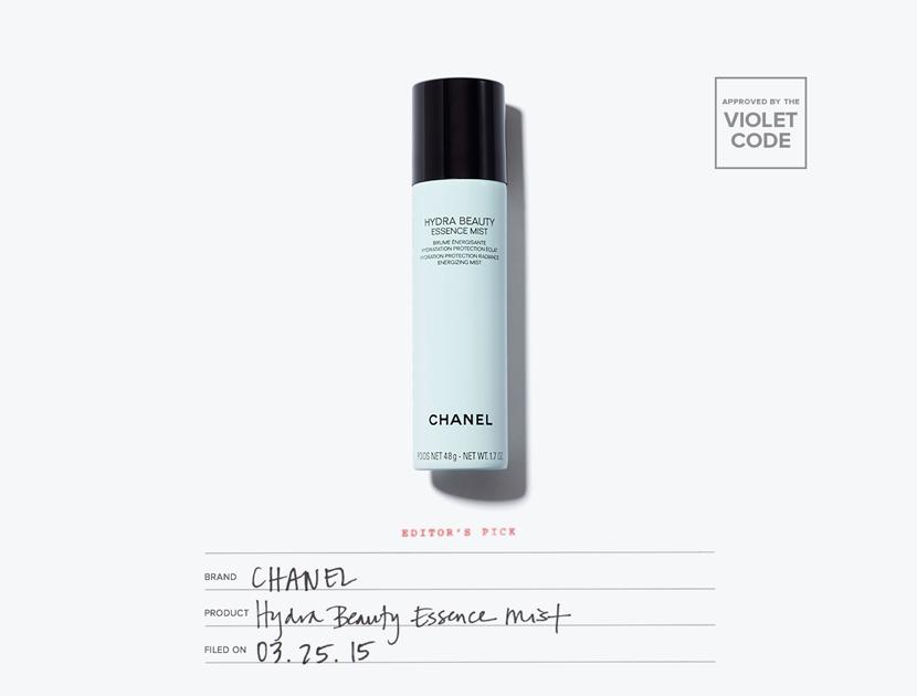Chanel Hydra Beauty Essence Mist | The Violet Files