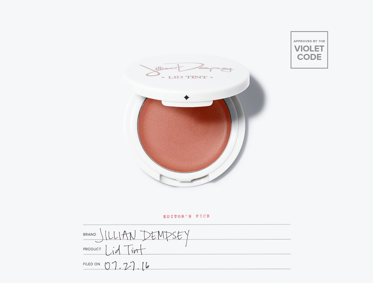 Jillian Dempsey Lid Tint | The Violet Files