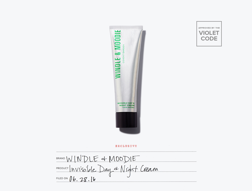 Windle & Moodie Invisible Day & Night Cream | The Violet Files