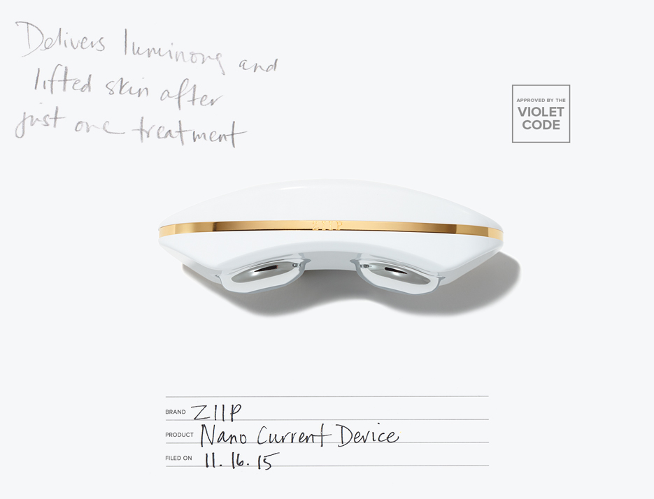 Shop ZIIP Nano Current Device on VIOLETGREY.com | @violetgrey