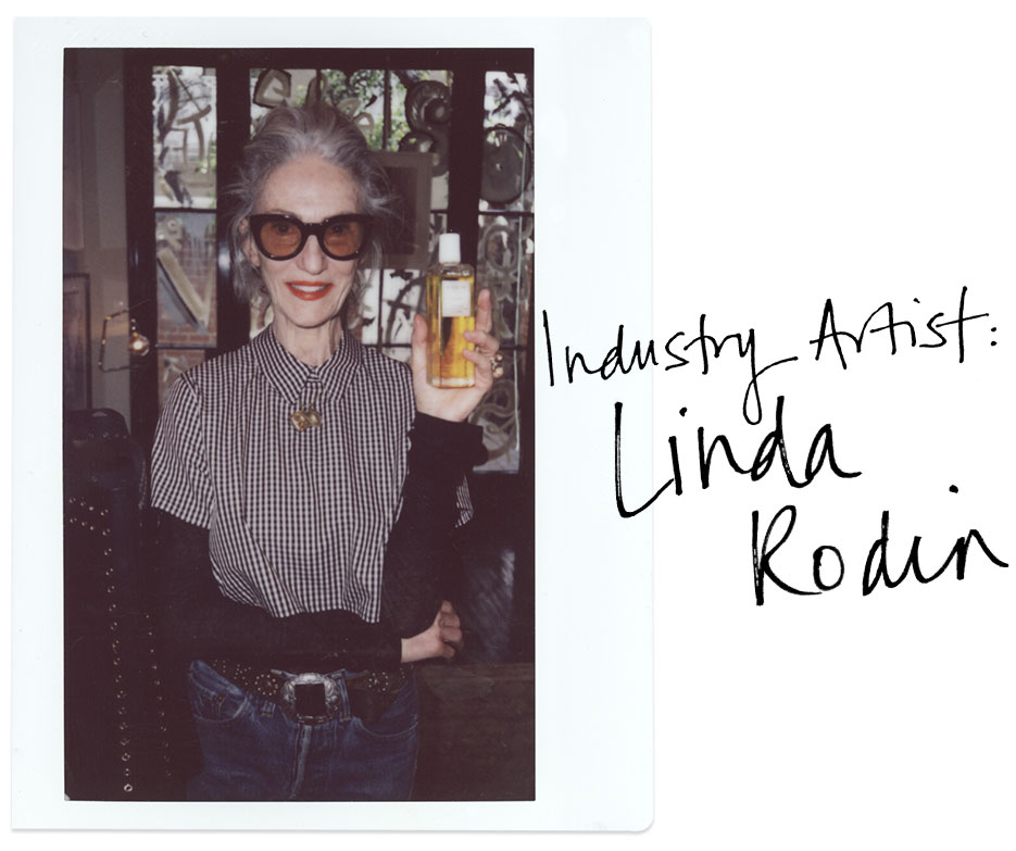 Linda Rodin | In the studio at VIOLET GREY | The Violet Files | @violetgrey