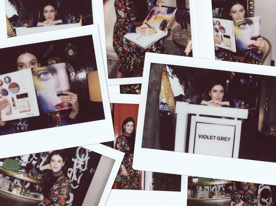 Makeup artist Lisa Eldridge visiting VIOLET GREY | The Violet Files | @violetgrey