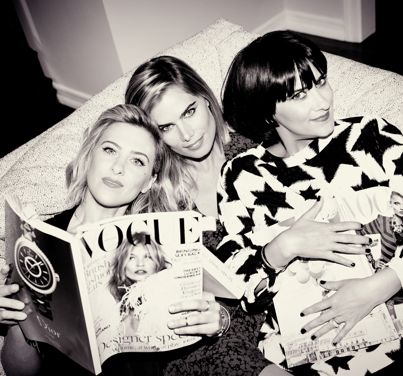 Holiday Hobnobbing With The Streicher Sisters  |  #VioletGrey, The Industry's Beauty Edit