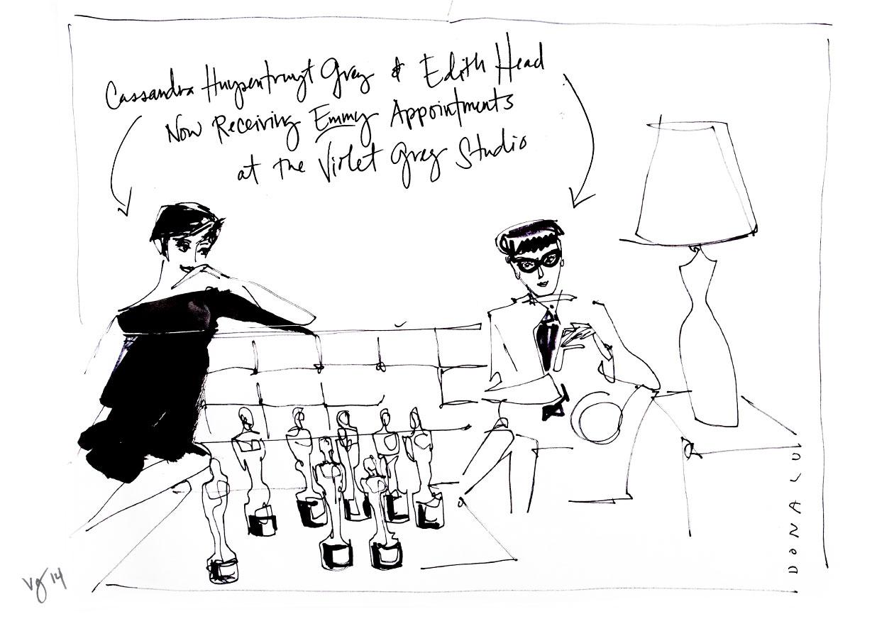 Artist In Residence: @DonaldDrawbertson  |  #VioletGrey, The Industry's Beauty Edit