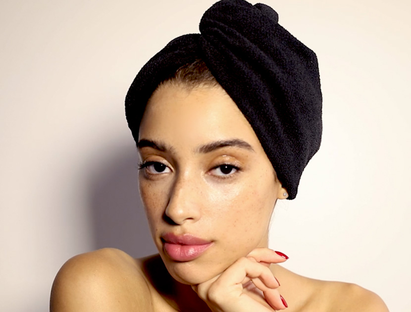 AQUIS LISSE LUXE HAIR TURBAN | THE VIOLET FILES