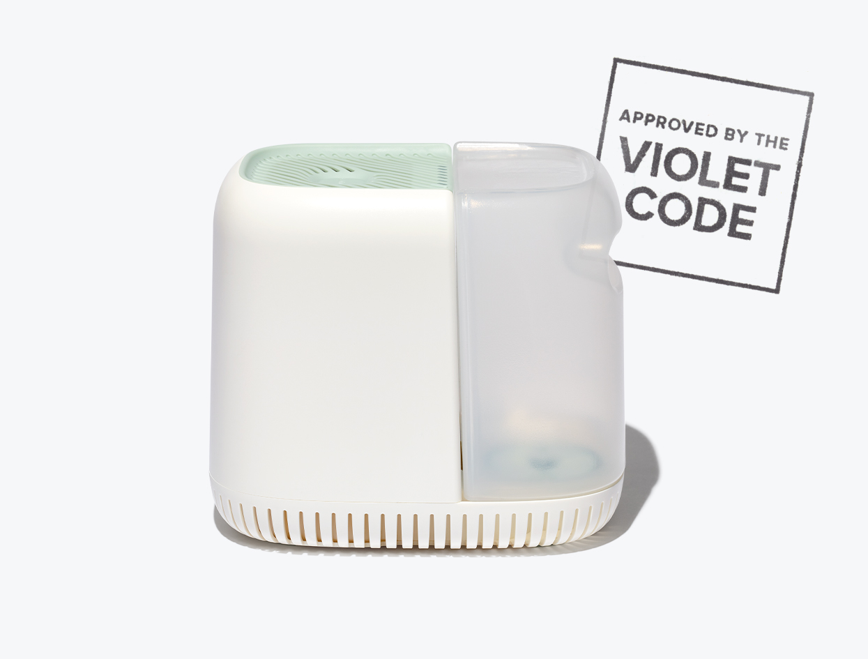 CANOPY HUMIDIFIER | THE VIOLET FILES