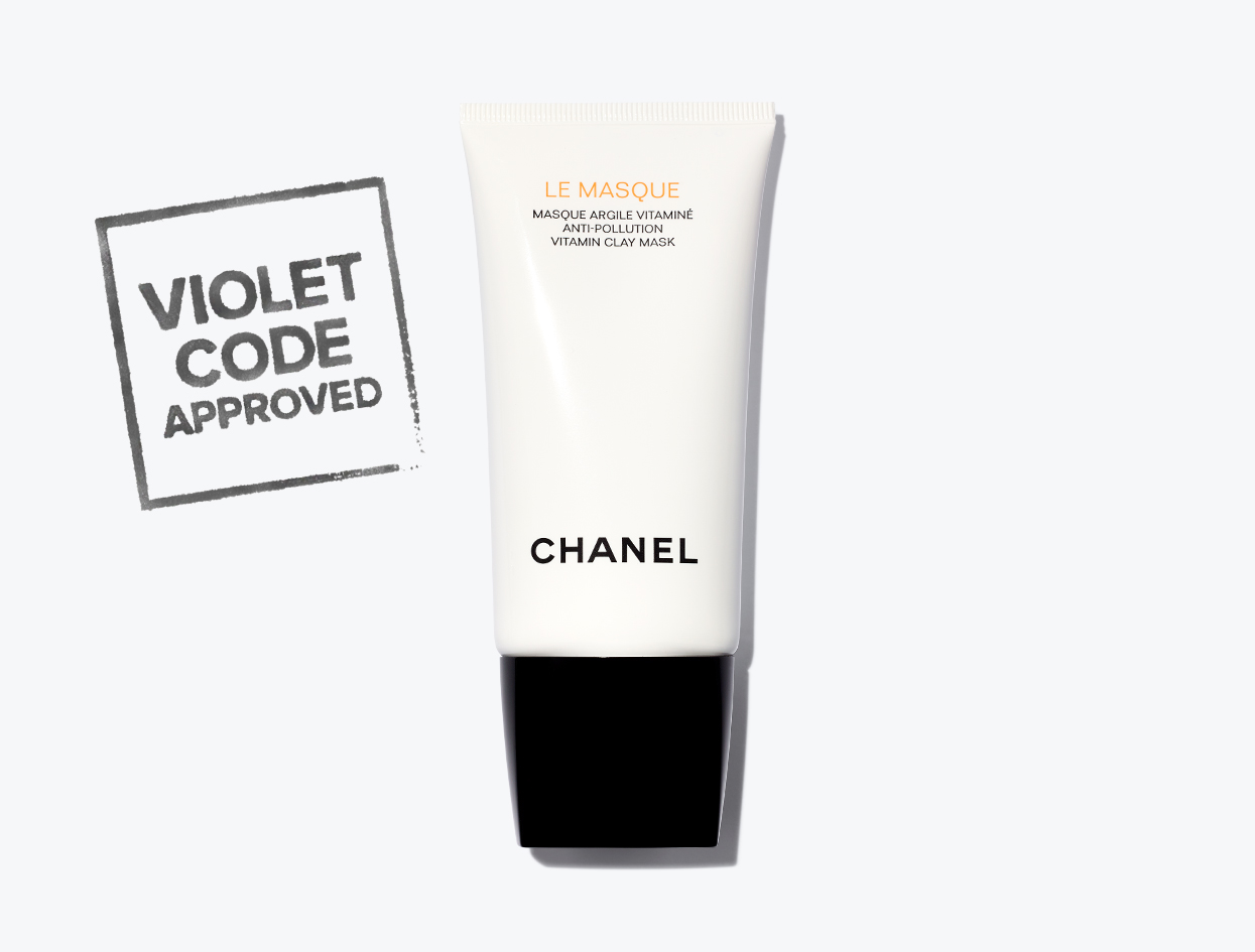CHANEL LE MASQUE ANTI-POLLUTION VITAMIN CLAY MASK  | THE VIOLET FILES
