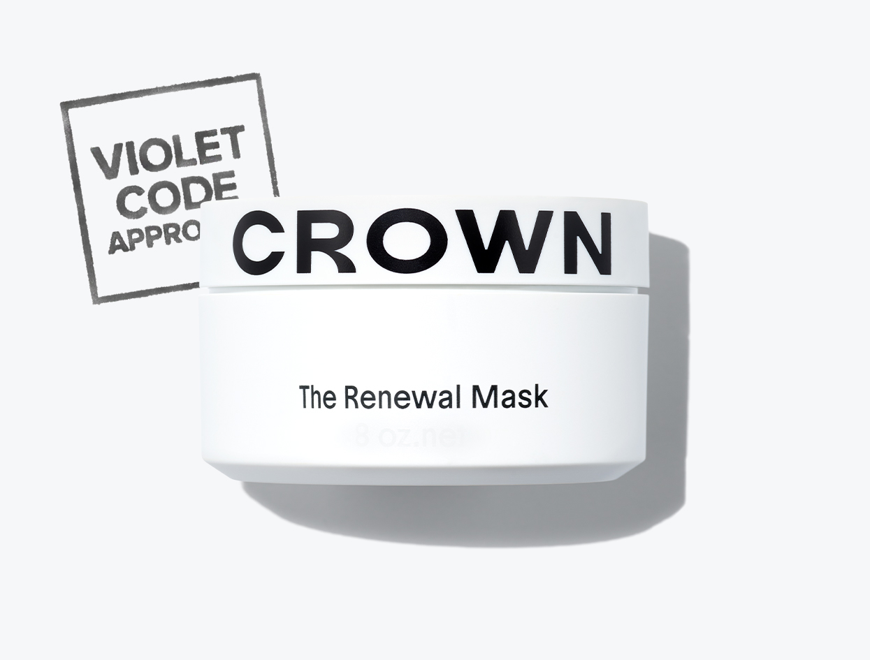 CROWN AFFAIR THE RENEWAL MASK  | THE VIOLET FILES