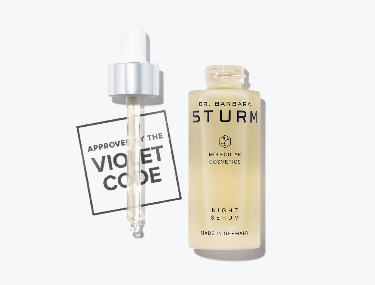 DR. BARBARA STURM NIGHT SERUM  | THE VIOLET FILES