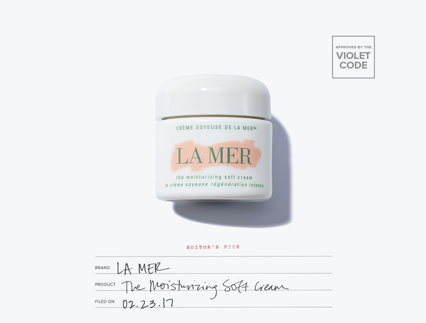 La Mer The Moisturizing Soft Cream | The Violet Files