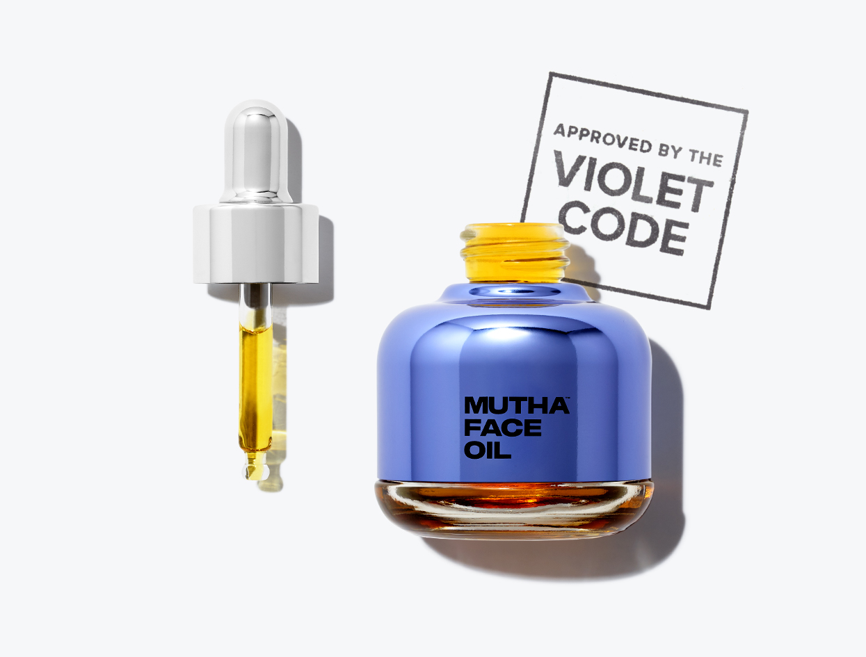 Mutha Face Oil | THE VIOLET FILES