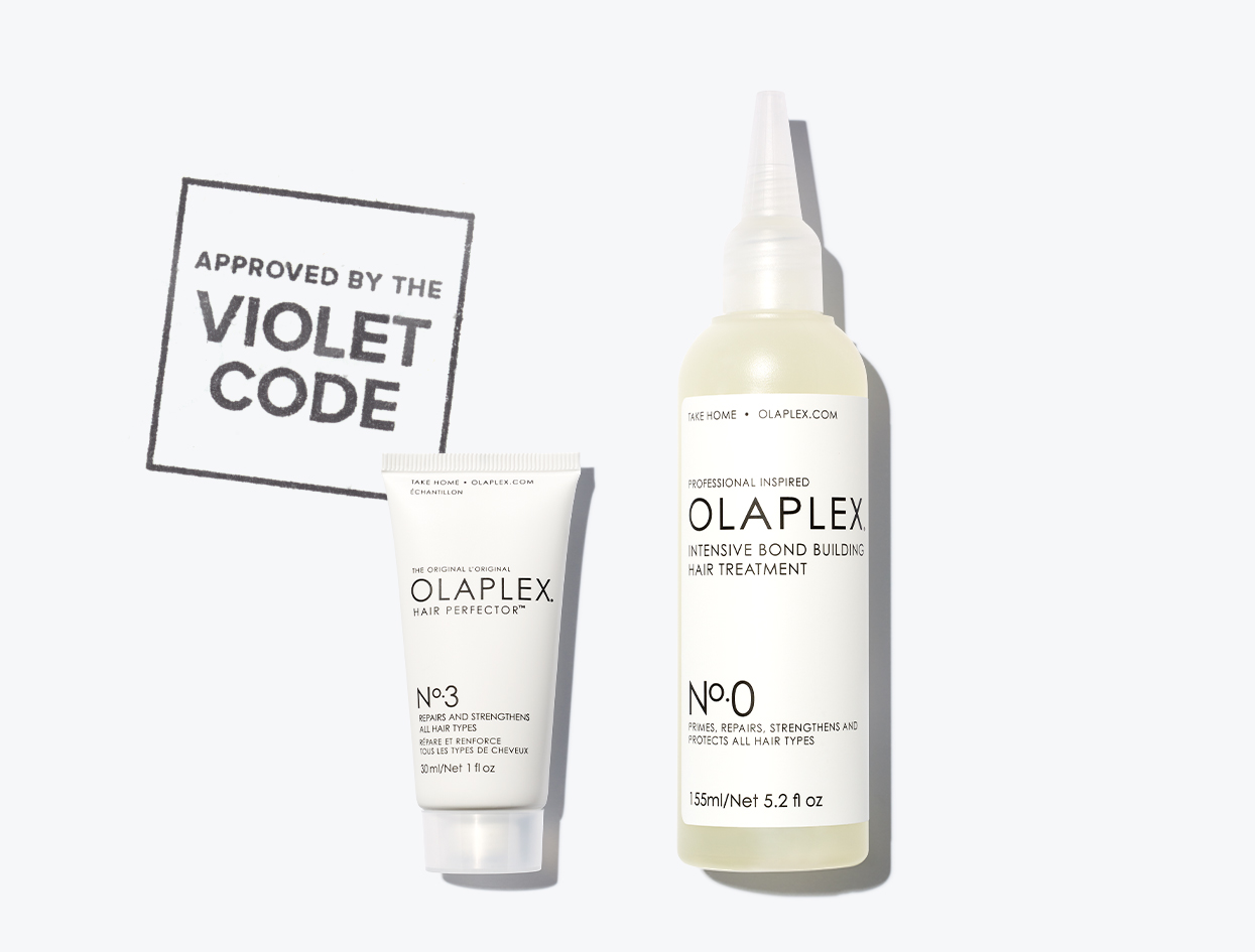 OLAPLEX NO. 0 INTENSIVE BOND BUILDING HAIR TREATMENT | THE VIOLET FILES