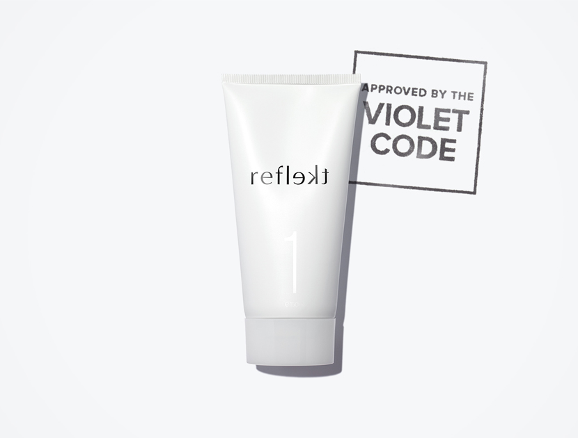 REFLEKT 1 DAILY EXFOLIATING FACE WASH  | THE VIOLET FILES