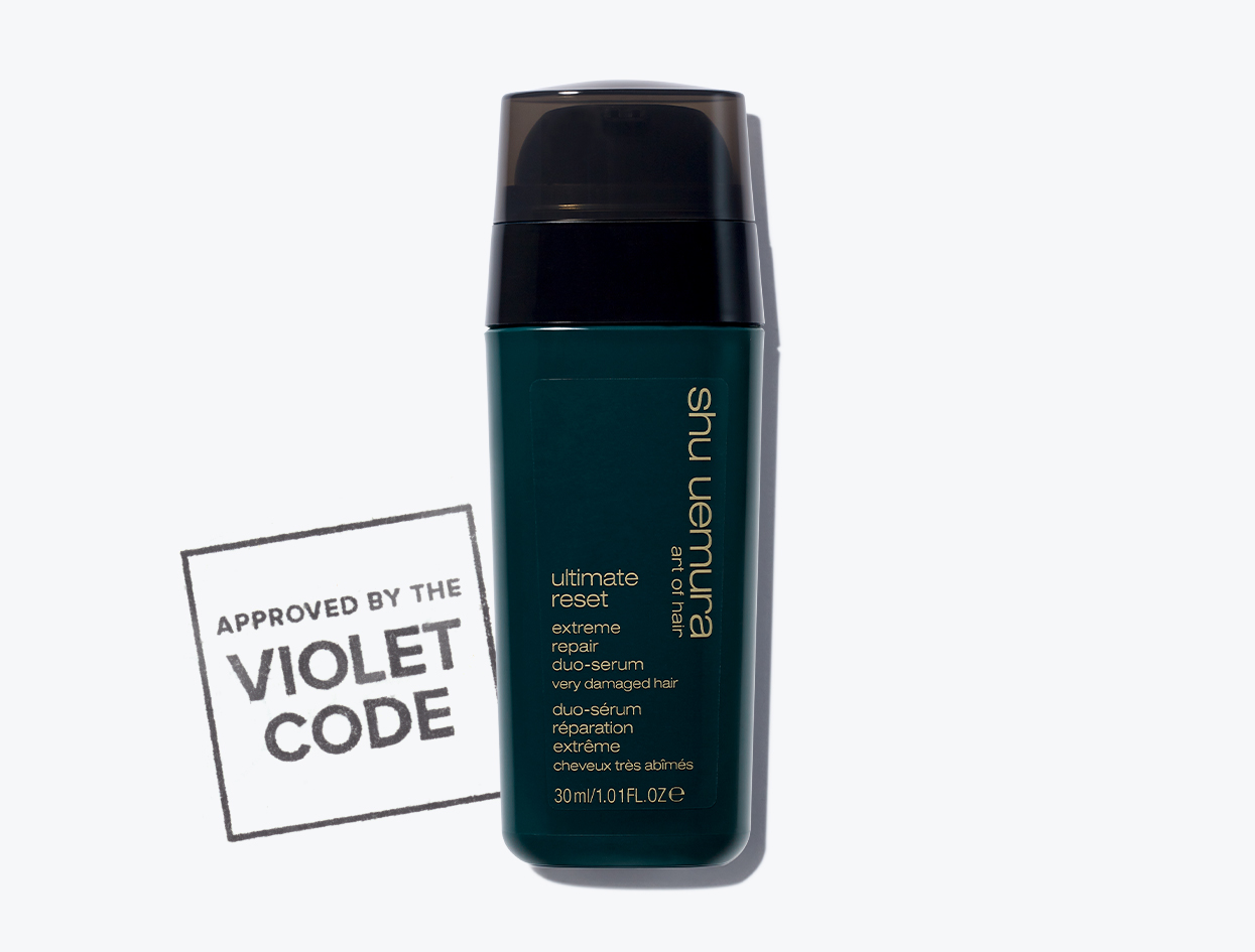 Shu Uemura Ultimate Reset Duo Hair Serum | THE VIOLET FILES