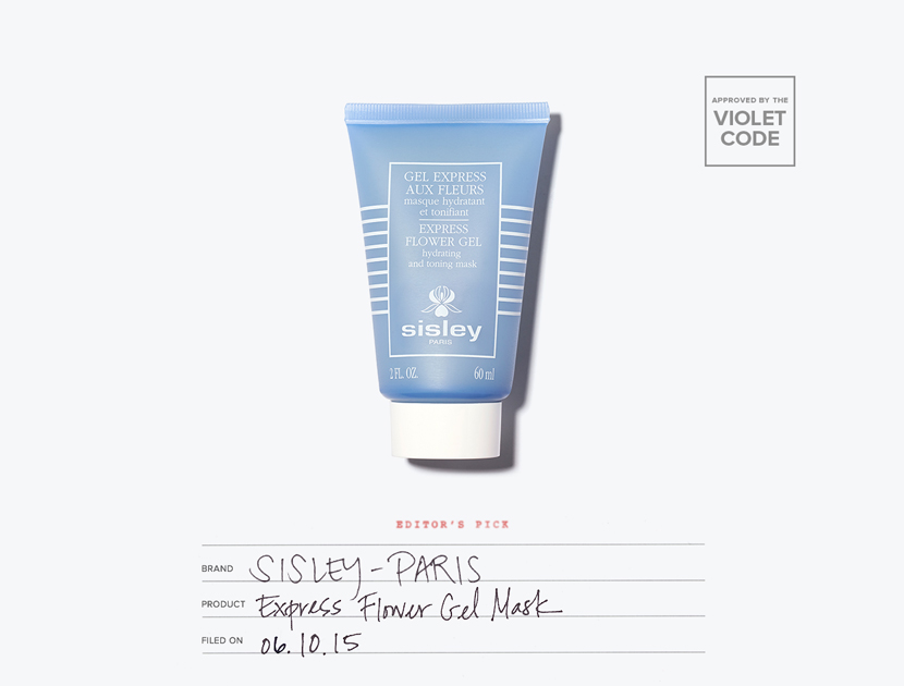 Sisley Express Flower Gel Mask | The Violet Files