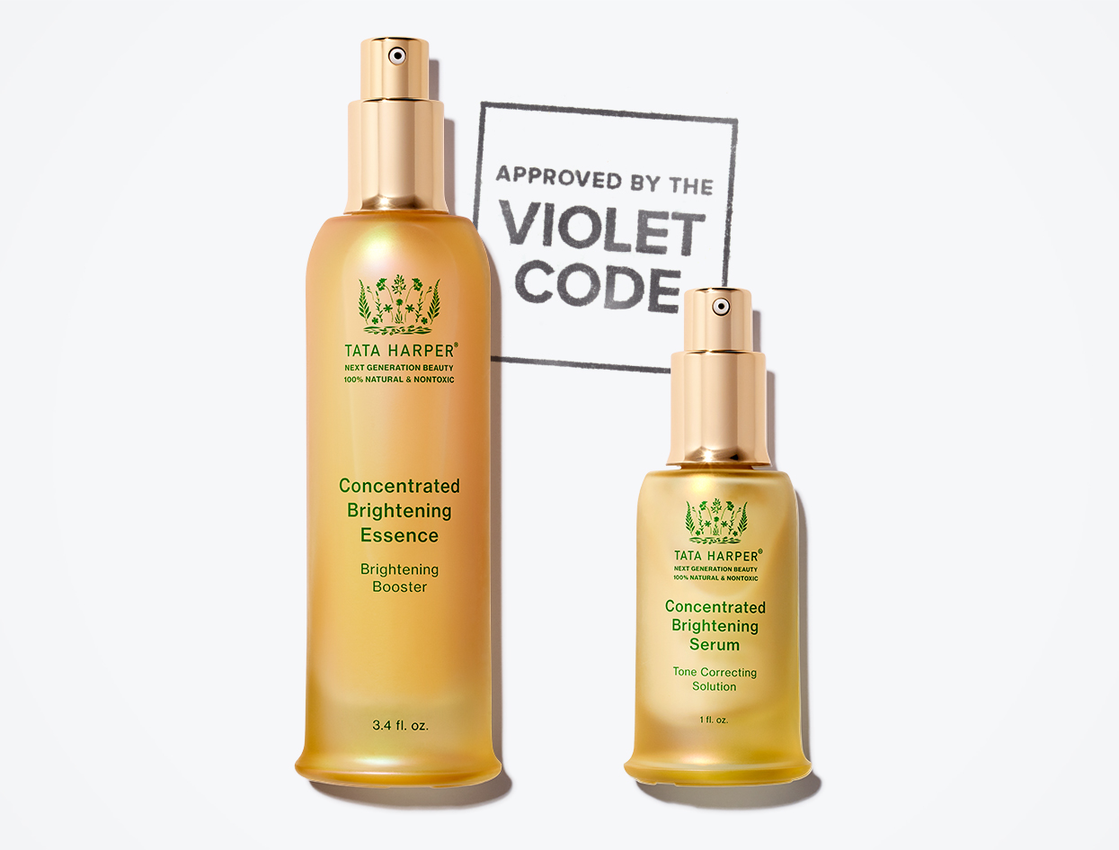 TATA HARPER CONCENTRATED BRIGHTENING DUO  | THE VIOLET FILES