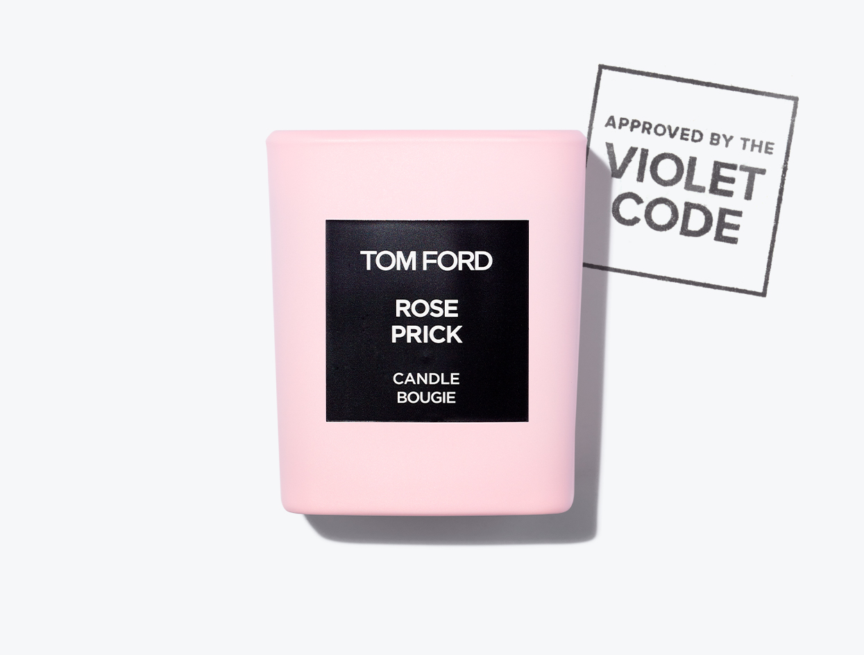 TOM FORD ROSE PRICK CANDLE | THE VIOLET FILES