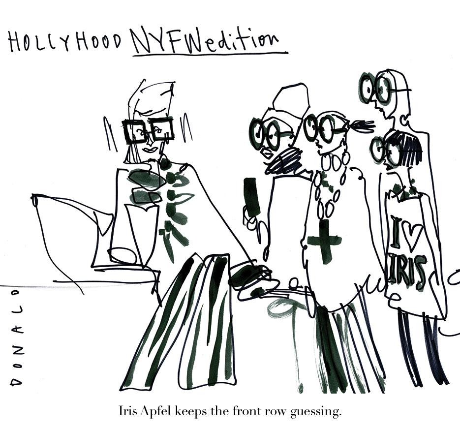 Hollyhood by @Drawbertson | THE VIOLET FILES | @violetgrey