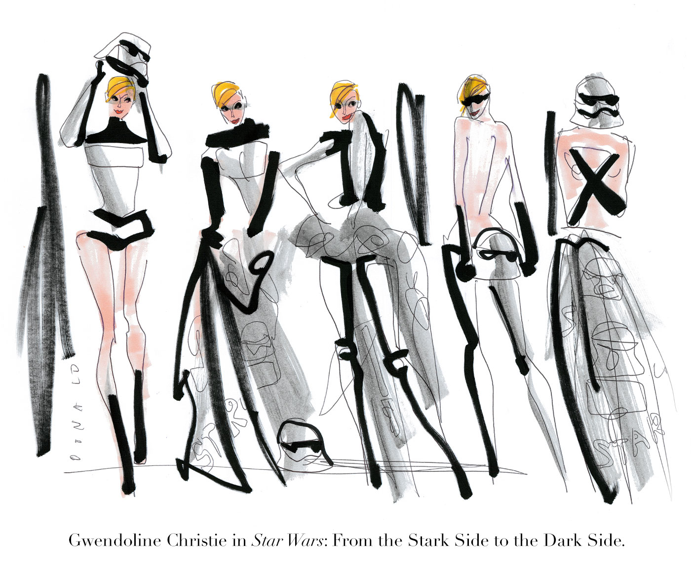 Hollyhood by Donald Robertson | THE VIOLET FILES | @violetgrey