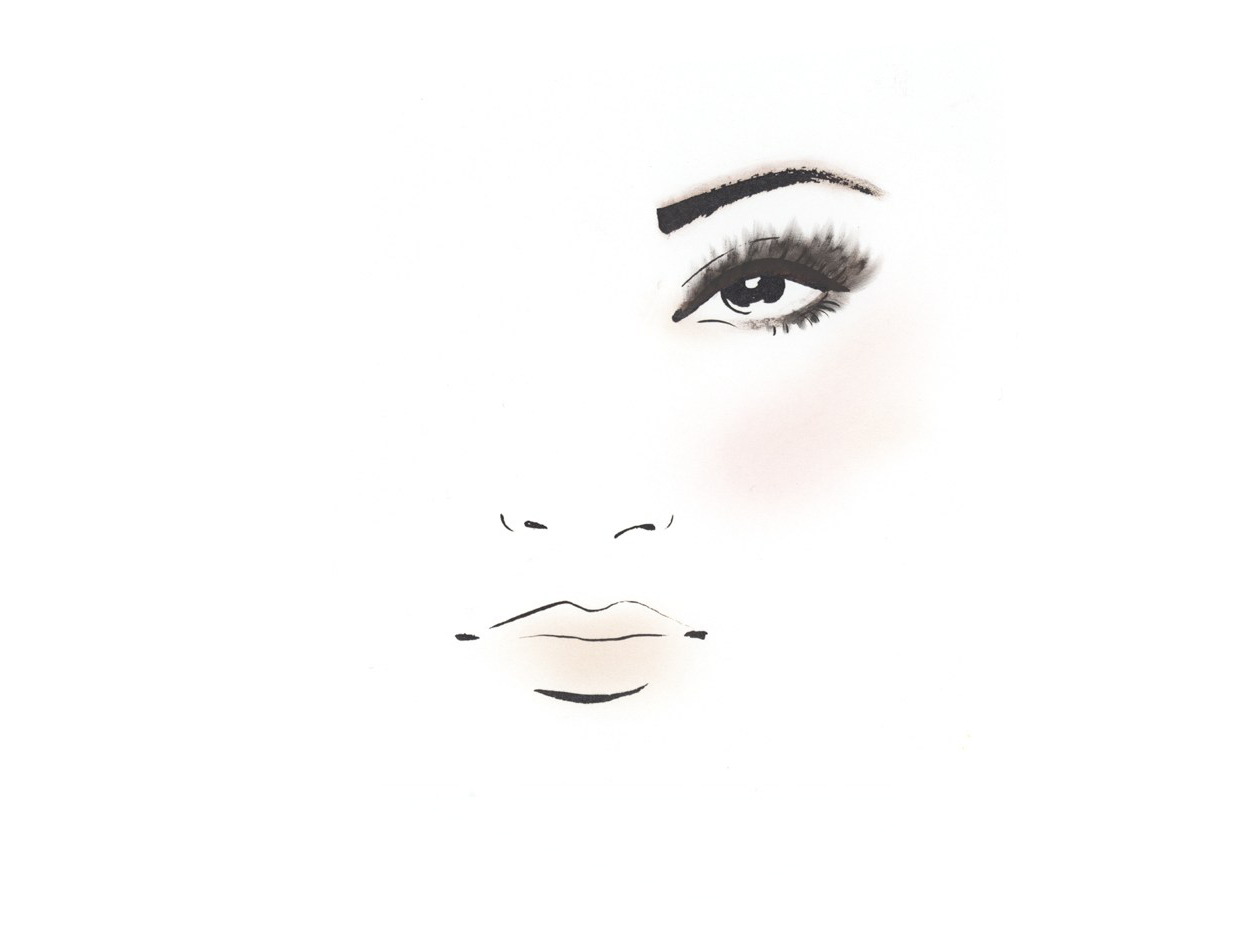 Makeup artist Dotti's guide to Cindy Crawford's cocoa smoky eyes and contoured cheeks  |  #VioletGrey, The Industry's Beauty Edit