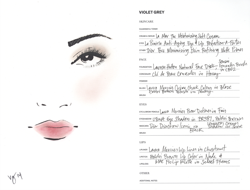 The Mulberry Palette Tutorial  |  #VioletGrey, The Industry's Beauty Edit