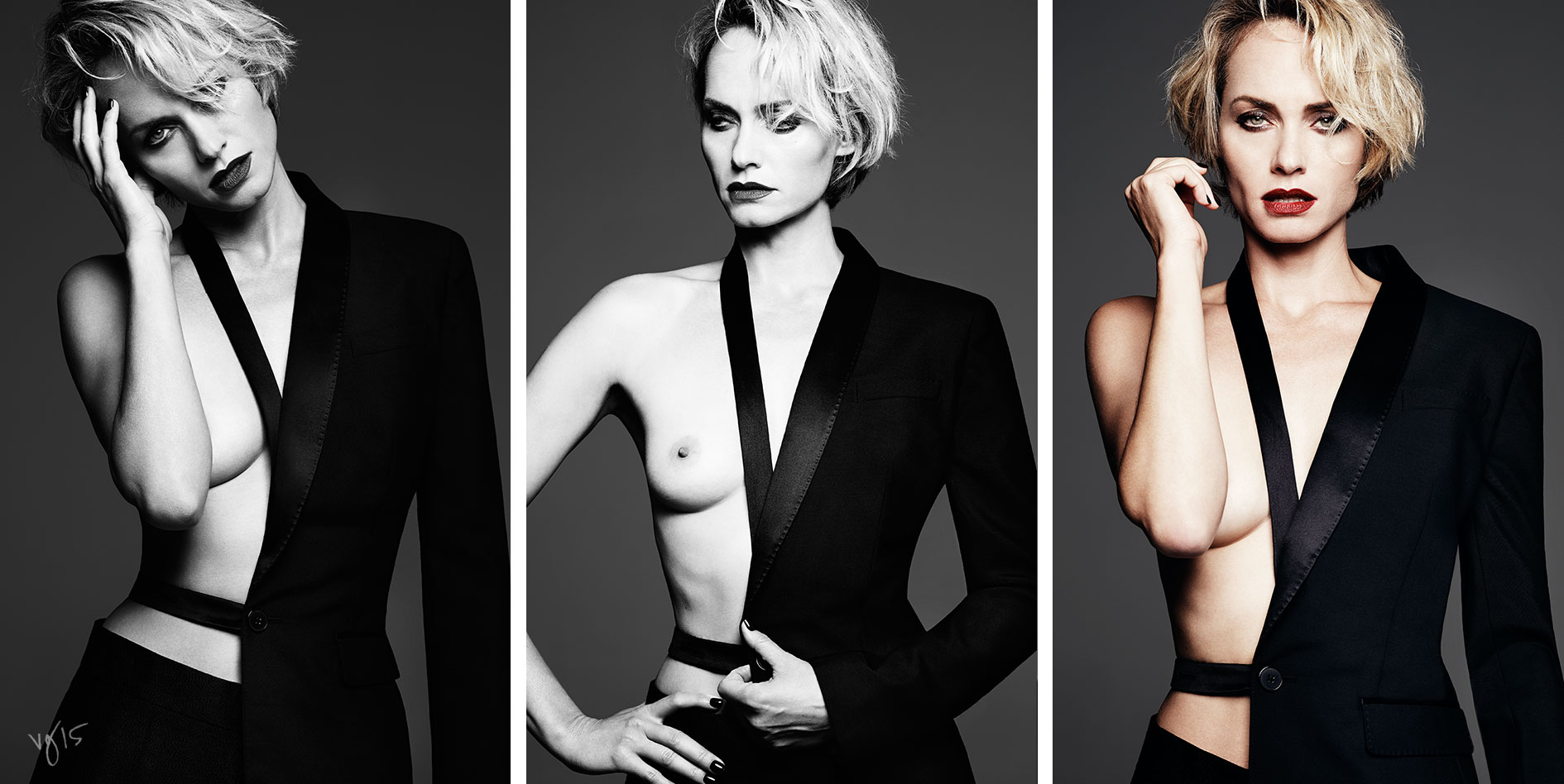 6 Ways to Wear a Red Lip with Amber Valletta | The Violet Files | Makeup by Rachel Goodwin | @violetgrey
