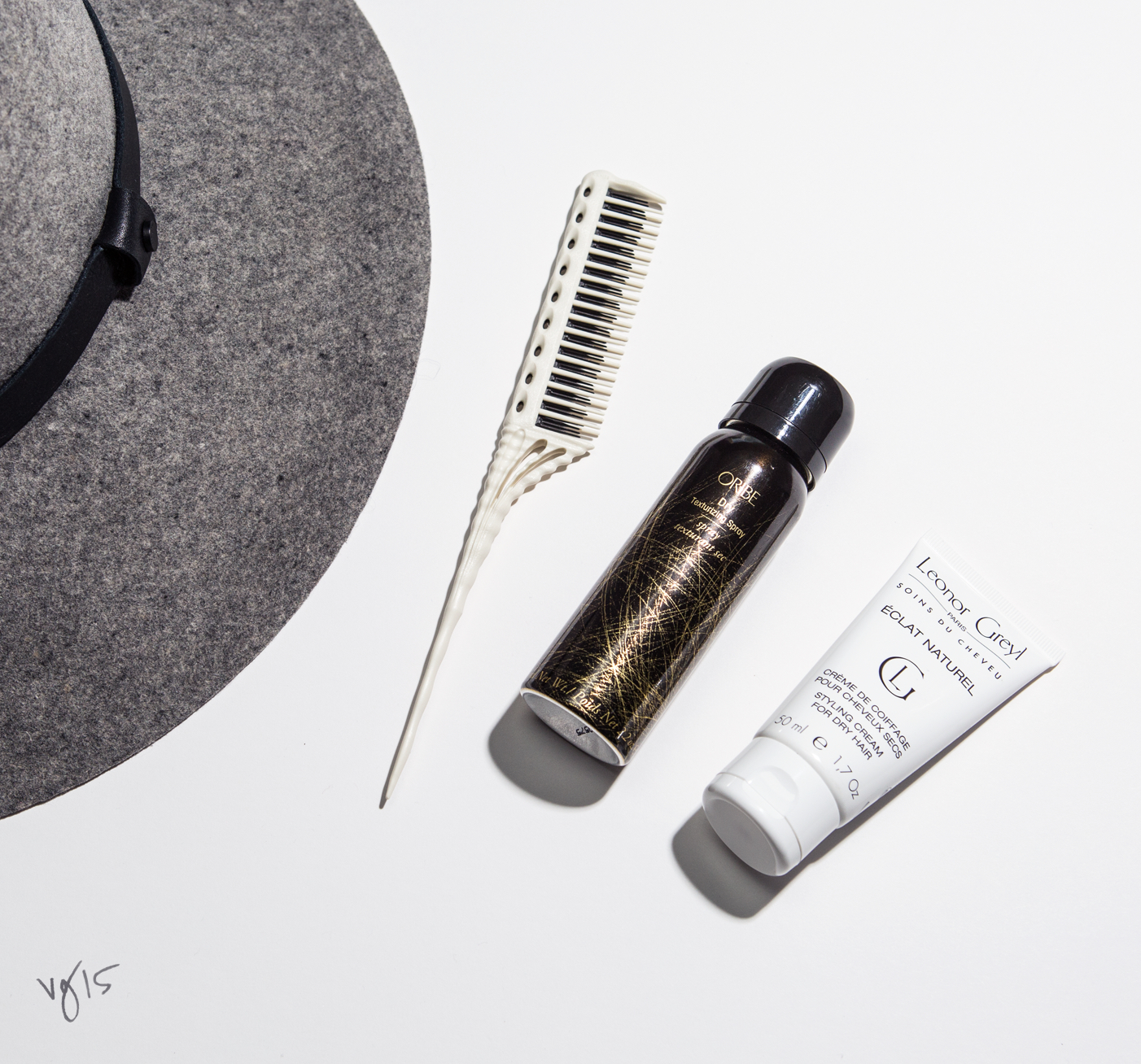 Quick Fix Kit: HAT HAIR BE GONE  |  #VioletGrey, The Industry's Beauty Edit