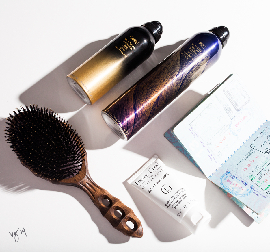 Static-Free Plane Hair: an easy three-step guide to Executive Platinum-level locks  |  #VioletGrey, The Industry's Beauty Edit
