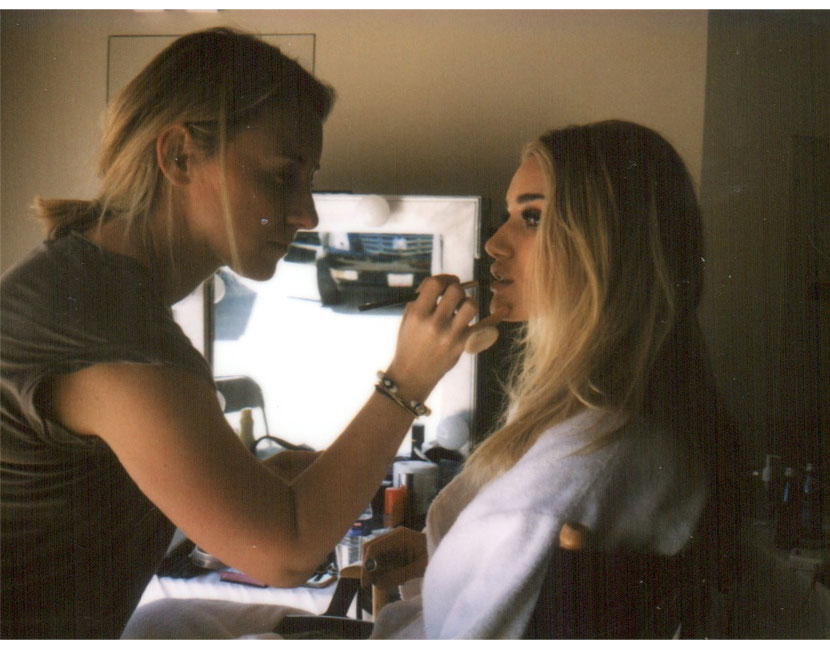 Behind the scenes with ROSIE HUNTINGTON-WHITELEY for THE VIOLET FILES #WetHotSummer  |  #VioletGrey, The Industry's Beauty Edit