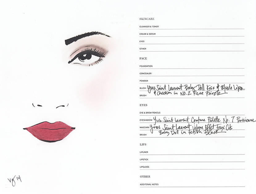 """The Modern Romantic Tutorial, inspired by Charlotte Le Bon's character in """"YVES SAINT LAURENT"""""""