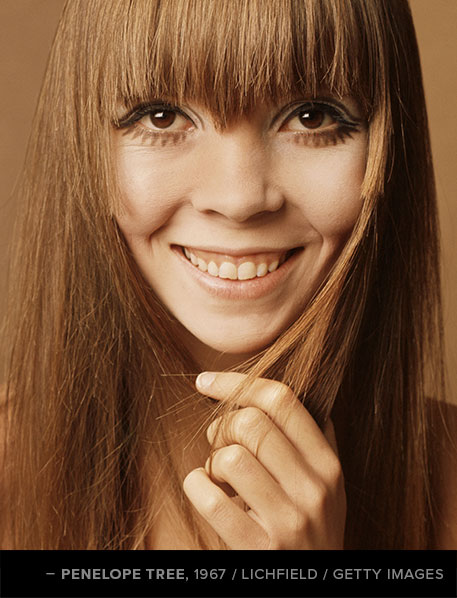 Penelope Tree, 1967  |  #VioletGrey, The Industry's Beauty Edit