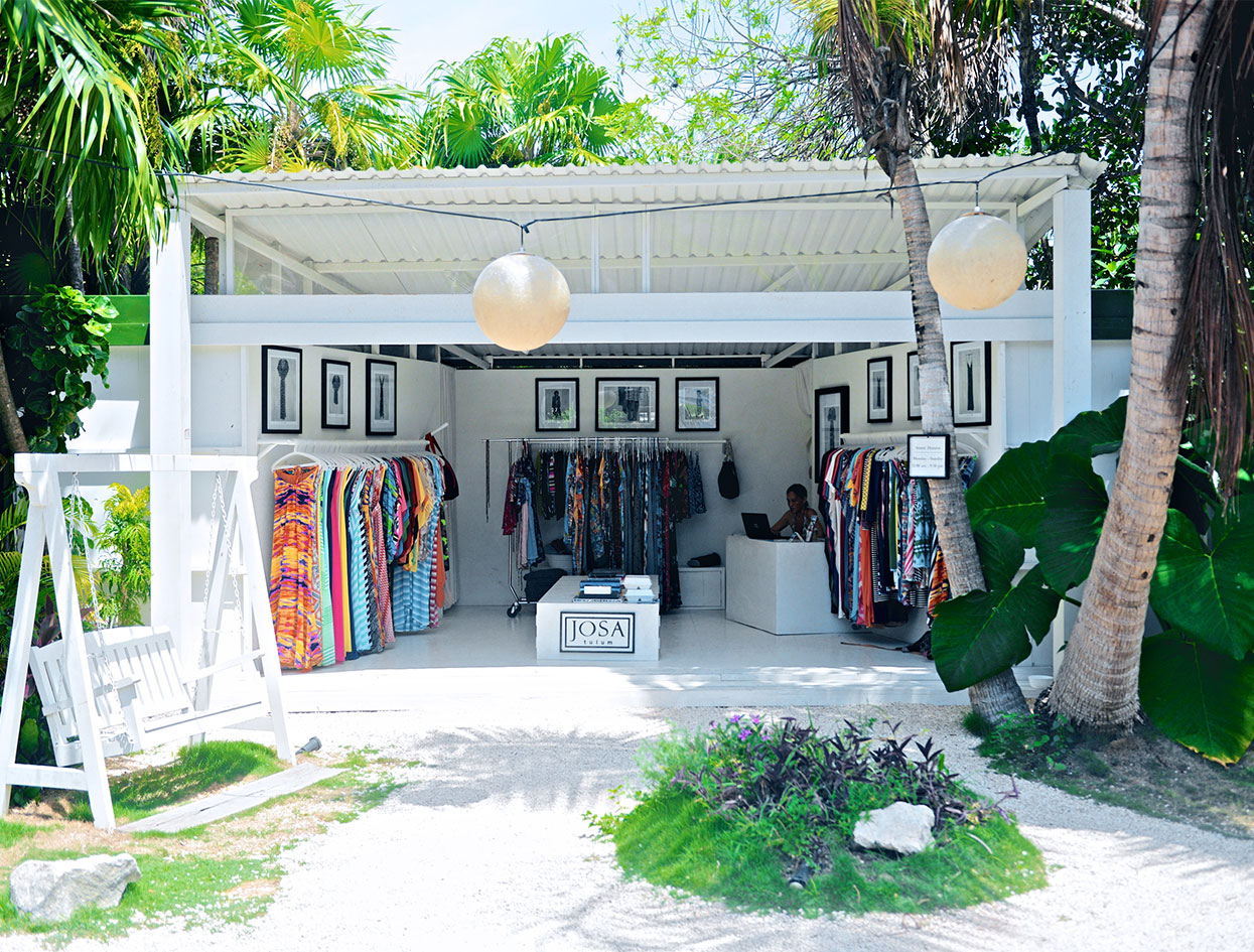 """When I was Tulum once, I discovered, Josa Tulum, a little beachside shop that has the most beautiful, vintage-inspired cover-ups and caftans. I wish I could own them all."" —#StreicherSecrets  
