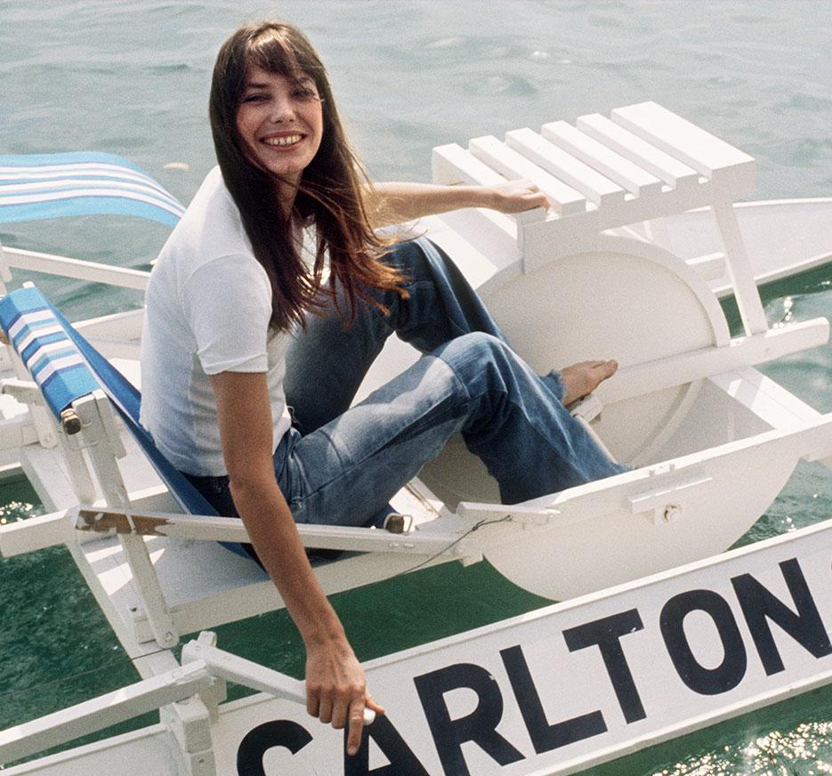 Jane Birkin In Cannes  |  Top Flight: VIOLET BEACHES  |  #VioletGrey, The Industry's Beauty Edit