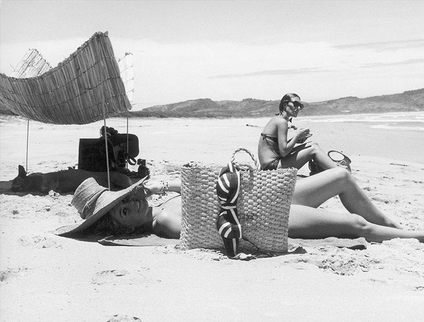 Brigitte Bardot in St. Tropez  |  Top Flight: VIOLET BEACHES  |  #VioletGrey, The Industry's Beauty Edit