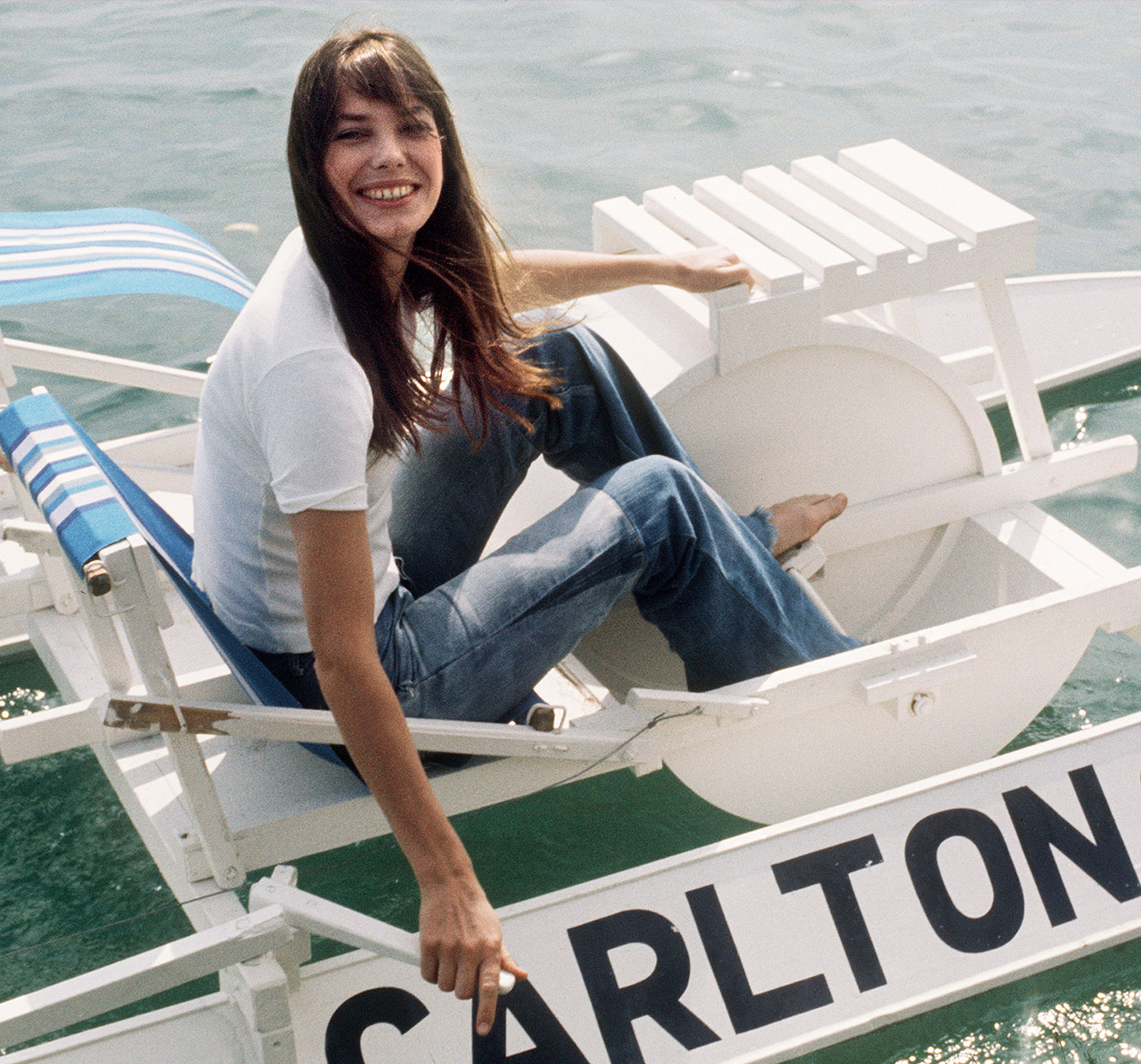Jane Birkin In Cannes  |  Top Flight: VIOLET BEACHES  |  #VioletGrey, The Industry's Beauty Edit