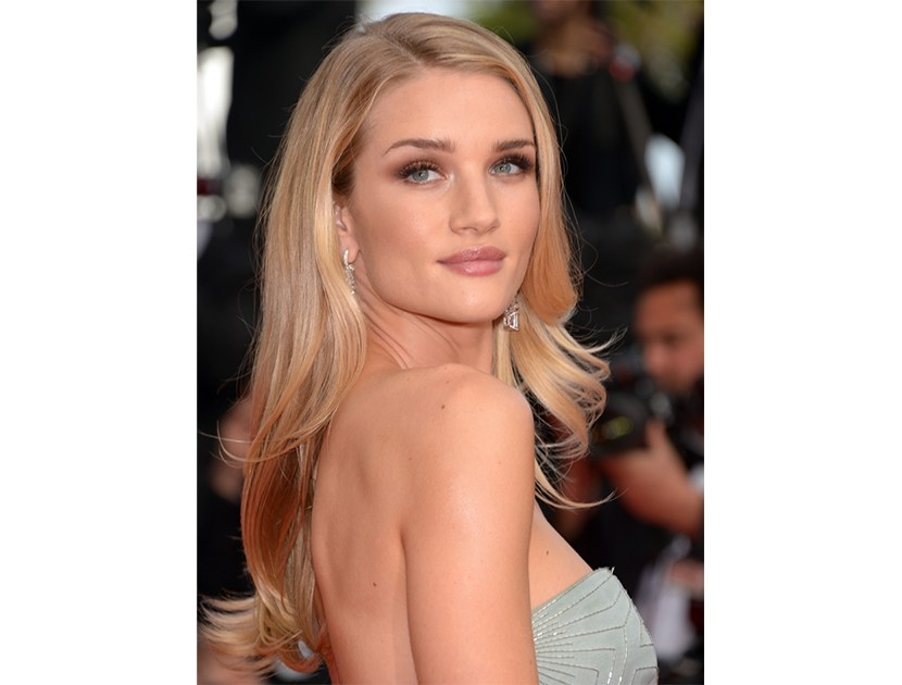 Hair So Good It Should Be Insured: #RosieHuntingtonWhiteley     #VioletGrey, The Industry's Beauty Edit