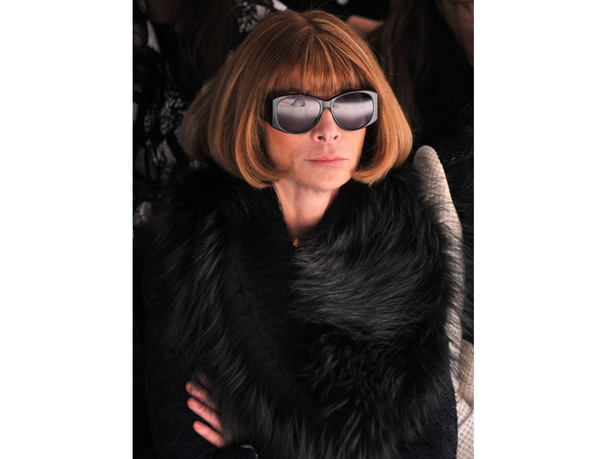 Hair So Good It Should Be Insured: #AnnaWintour  |  #VioletGrey, The Industry's Beauty Edit