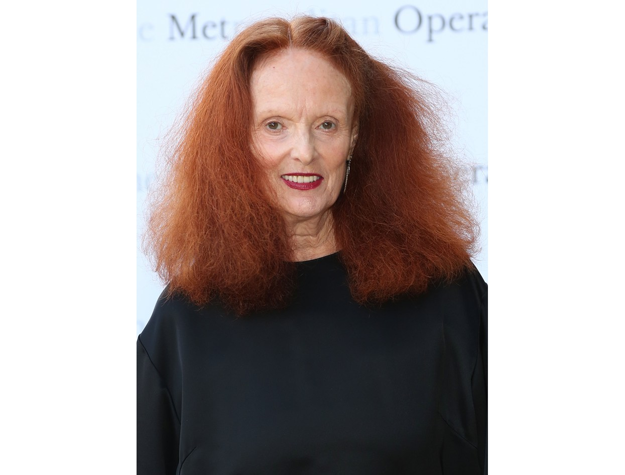 Hair So Good It Should Be Insured: #GraceCoddington  |  #VioletGrey, The Industry's Beauty Edit
