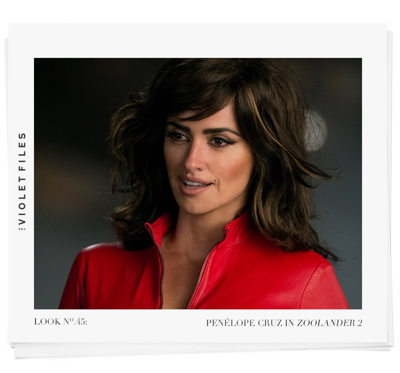 Penelope Cruz in Zoolander 2 | Pablo Iglesias | The Violet Files | @violetgrey