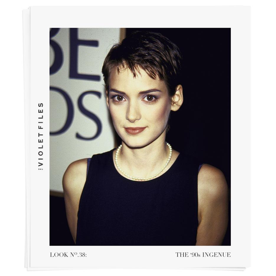 The 90s Ingenue Tutorial | Winona Ryder | The Violet Files | @violetgrey