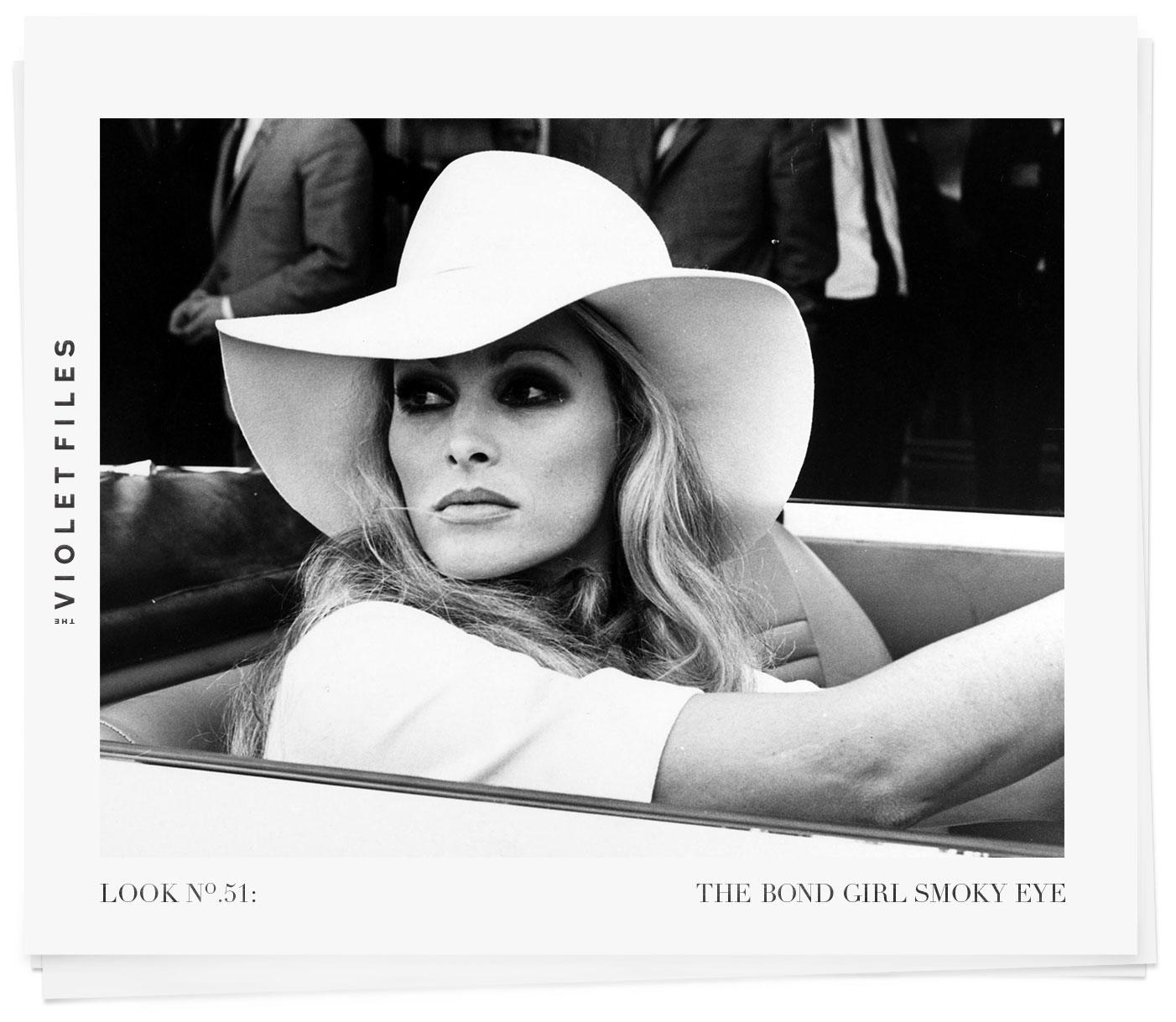 Ursula Andress | The Bond Girl Smoky Eye | The Violet Files | @violetgrey