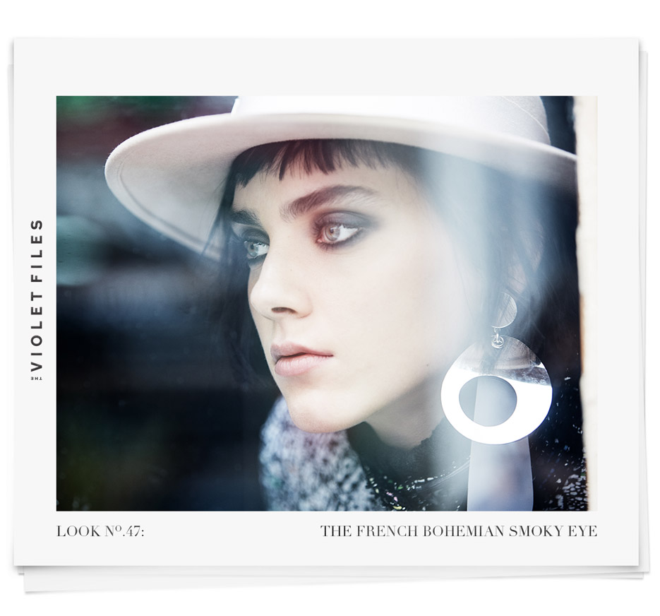 The French Bohemian Smoky Eye | Jeffrey Baum | The Violet Files | @violetgrey