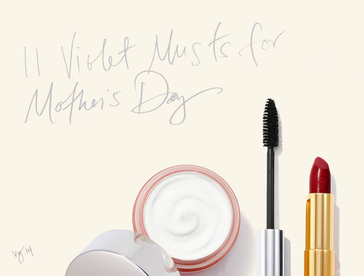A Very VIOLET Mother's Day gift — for the sentimental: Terrapin Stationers  |  #VioletGrey, The Industry's Beauty Edit